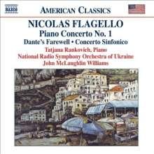 Nicolas Flagello (1928-1994): Klavierkonzert Nr.1, CD