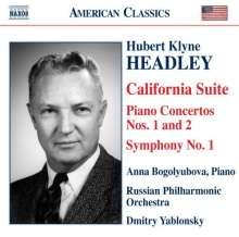 Hubert Klyne Headley (1906-1995): Symphonie Nr.1 für Radio, CD