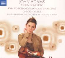 John Adams (geb. 1947): Violinkonzert, CD