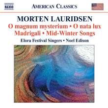 Morten Lauridsen (geb. 1943): O Magnum Mysterium, CD