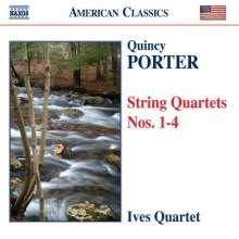Quincy Porter (1897-1966): Streichquartette Nr.1-4, CD