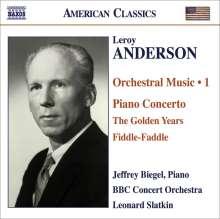 Leroy Anderson (1908-1975): Orchestermusik Vol.1, CD