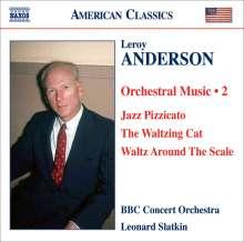 Leroy Anderson (1908-1975): Orchestermusik Vol.2, CD