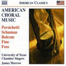 University of Texas Chamber Singers -  American Choral Music, CD