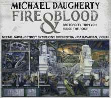 Michael Daugherty (geb. 1954): Fire and Blood für Violine & Orchester, CD