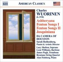 Charles Wuorinen (geb. 1938): Fenton Songs I & II, CD