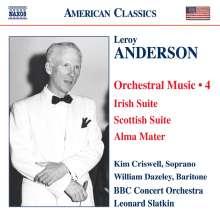 Leroy Anderson (1908-1975): Orchestermusik Vol.4, CD