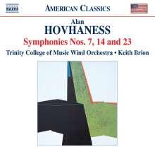 Alan Hovhaness (1911-2000): Symphonie Nr.7,14,23, CD