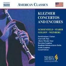 Klezmer Concertos & Encores, CD