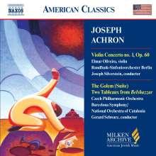 Joseph Isidor Achron (1886-1943): Violinkonzert Nr.1, CD