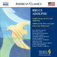 Bruce Adolphe (geb. 1955): Ladino Songs of Love and Suffering, CD