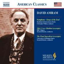 "David Amram (geb. 1930): Symphonie ""Songs of the Soul"", CD"