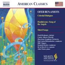 Ofer Ben-Amots (geb. 1955): Hashkivenu - Song of the Angels, CD