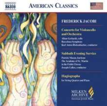 Federick Jacobi (1891-1952): Cellokonzert, CD