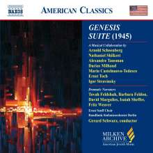 Genesis Suite, CD