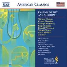 Psalms of Joy And Sorrow, CD