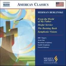Herman Berlinski (1910-2001): Symphonic Visions, CD