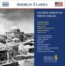 Sacred Services From Israel, CD
