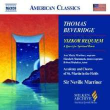 Thomas Beveridge (geb. 1938): Yizkor Requiem, CD