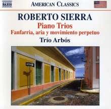 Roberto Sierra (geb. 1953): Klaviertrios Nr.1-3, CD