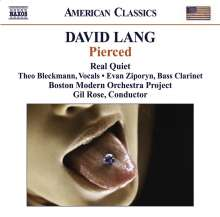 David Lang (geb. 1957): Kammermusik, CD