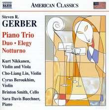 Steven Gerber (1948-2015): Klaviertrio, CD