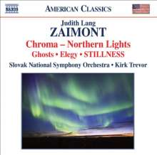 Judith Lang Zaimont (geb. 1945): Stillness, CD