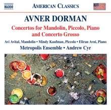 Avner Dorman (geb. 1975): Klavierkonzert, CD