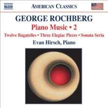 George Rochberg (1918-2005): Klaviermusik Vol.2, CD