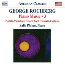 George Rochberg (geb. 1918): Klaviermusik Vol.3, CD