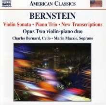 Leonard Bernstein (1918-1990): Sonate für Violine & Klavier, CD