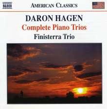 Daron Hagen (geb. 1961): Klaviertrios Nr.1-4, CD