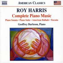 Roy Harris (1898-1979): Klavierwerke, CD