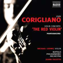 "John Corigliano (geb. 1938): Violinkonzert ""The Red Violin"", CD"