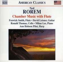 Ned Rorem (geb. 1923): Kammermusik für Flöte, CD