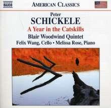 Peter Schickele (geb. 1935): A Year in the Catskills, CD