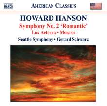 Howard Hanson (1896-1981): Symphonie Nr.2, CD