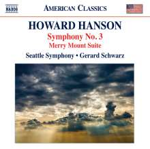 Howard Hanson (1896-1981): Symphonie Nr.3, CD