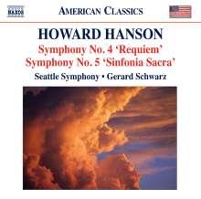 Howard Hanson (1896-1981): Symphonien Nr.4 & 5, CD