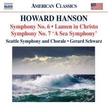 Howard Hanson (1896-1981): Symphonien Nr.6 & 7, CD