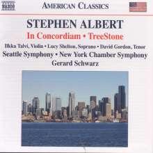 Stephen Albert (1941-1992): TreeStone für Sopran, Tenor & Orchester, CD