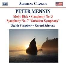 Peter Mennin (1923-1983): Symphonien Nr.3 & 7, CD