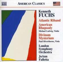 """Kenneth Fuchs (geb. 1956): Konzert für Viola & Orchester """"Divinum Mysterium"""", CD"""
