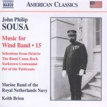 John Philip Sousa (1854-1932): Music for Wind Band Vol.15, CD