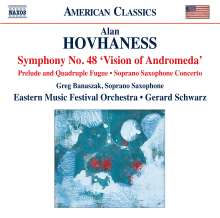 Alan Hovhaness (1911-2000): Symphonie Nr.48, CD