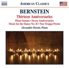 Leonard Bernstein (1918-1990): Klavierwerke, CD