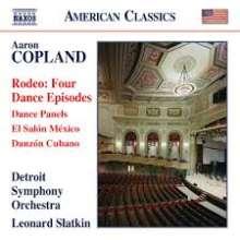 Aaron Copland (1900-1990): Dance Panels, CD