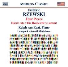 Frederic Rzewski (geb. 1938): Four Pieces, CD