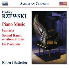 Frederic Rzewski (geb. 1938): Klavierwerke, CD
