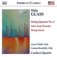 Philip Glass (geb. 1937): Streichquartett Nr.5, CD